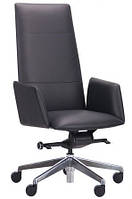 Кресло кожаное Никколо НВ черный, фото 1