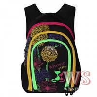 Рюкзаки для девочек Winner Stile 28*18*40 (чёрный)