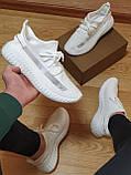 Мужские кроссовки белые  N/M (реплика TOP ААА+) 41, 42,43.размер, фото 3