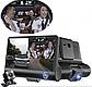 Авторегістратор XH202/319 | Автомобільний відеореєстратор з 3 камерами, фото 4
