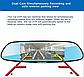 Автомобильный видеорегистратор зеркало Car DVR H10 1080P с камерой заднего вида, фото 2