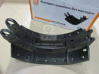 Колодка торм.(6520-3501095) КамАЗ ЕВРО-2 без накл. <ДК>