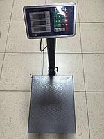 Весы торговые электронные Сrystal (до 100 кг) с платформой и счетчиком цены на трубе (на стойке) DJV /43