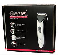 Профессиональная машинка для стрижки Gemei GM 654 с насадками, фото 1