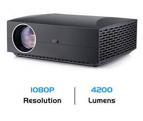 Портативний мультимедійний Проектор F30 MINI PROJECTOR FULL HD