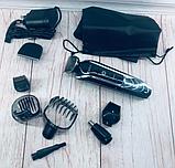 Профессиональная машинка для стрижки Kemei LFQ KM 1832 с насадками, фото 5