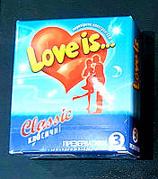 Презервативы Love is премиум с ароматом ВАНИЛИ и комиксом-вкладышем  ,3 шт., фото 1