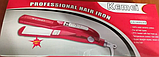 Утюжок Kemei ZFQ-KM 1282   Випрямляч для волосся, фото 2