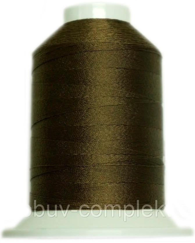 Нить №60 (1000 м.) «Титан» колір 2550 світлокоричневий