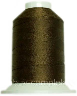 Нить №60 (1000 м.) «Титан» колір 2550 світлокоричневий, фото 2