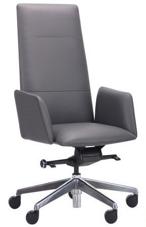 Кресло руководителя Никколо НВ темно-серый