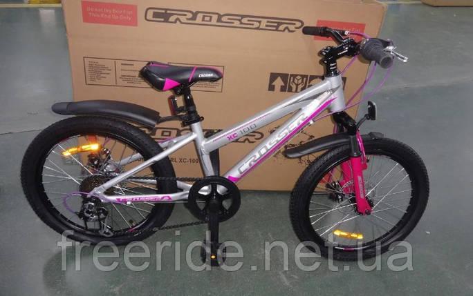 """Детский спортивный Велосипед Crosser Girl 20"""" XC-100, фото 2"""