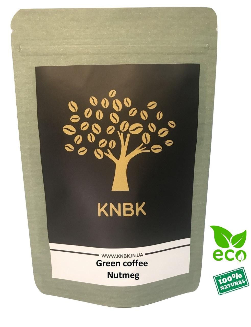 Зеленый кофе с Мускатным орехом 100 г. молотый (для похудения)