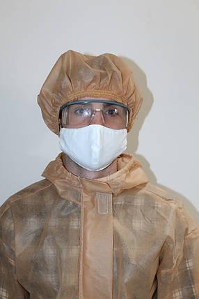 Одноразовая защитная шапка, фото 2