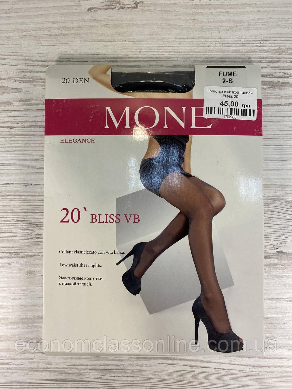 Колготки женские MONE 20 с низкой талией Bliess