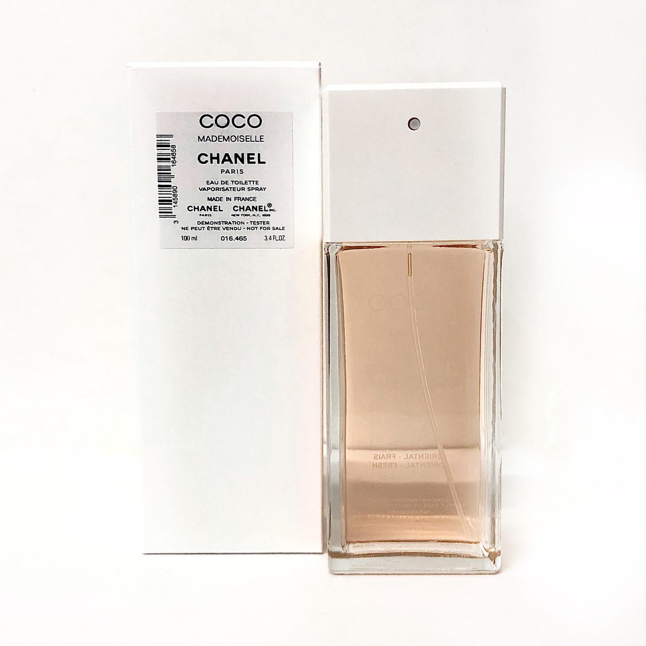 CHANEL Coco Mademoiselle 100ml (ТЕСТЕР) туалетная вода Шанель Коко Мадмуазель ОРИГИНАЛ