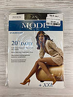 Колготки женские MONE 20 Daily усиленный верх шортики