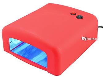 Ультрафиолетовая лампа для ногтей 36Вт K818 Red (4276)