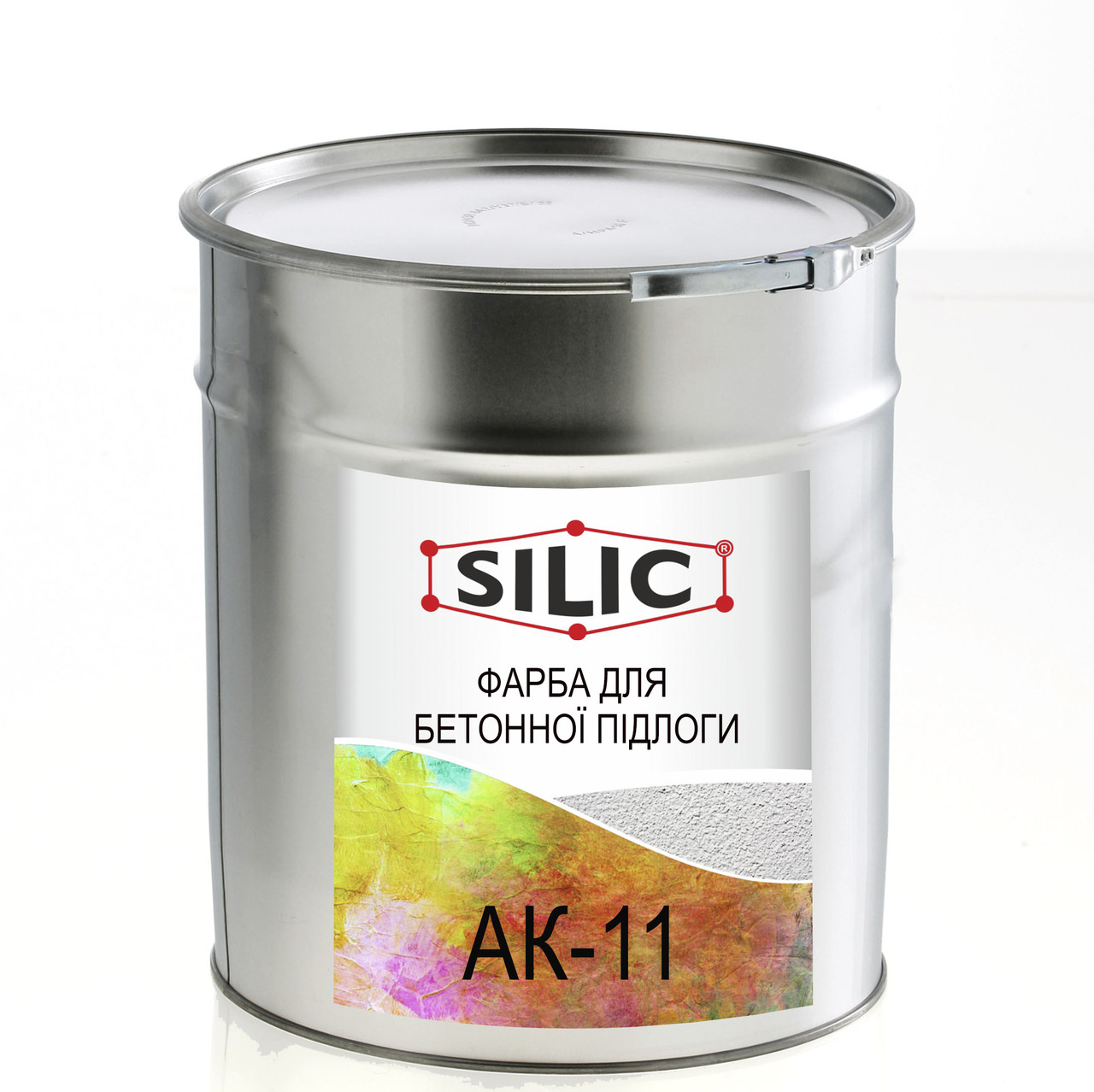 Краска для бетонных полов АК-11 (1кг)