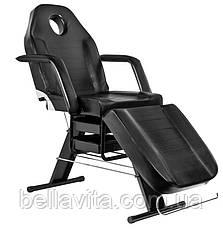 Косметологічне крісло - кушетка Black, фото 2