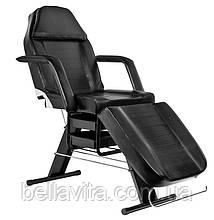 Косметологічне крісло - кушетка Black