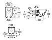 Унитаз подвесной ROCA Gap Rimless c cиденьем Slim + Монтажный комплектGeberit Duofix 458.126.00.1, фото 2