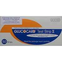 """Тест-полоски """"Глюкокард 2"""" (Glucocard II) 50 шт. Оригинал!"""
