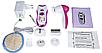 Женский эпилятор многофункциональный Kemei TMQ-KM 3066-X | электробритва пемза, фото 5