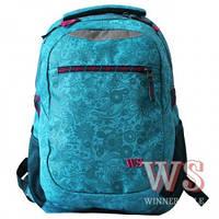 Рюкзаки для девочек Winner Stile 31*14*45 (бирюзовый)