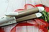 Плойка-утюжок-гофре Gemei GM 2961 2в1 | Утюжок выпрямитель с гофре для волос, фото 4
