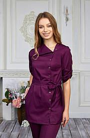 Женская медицинская куртка топ Влада - Жіноча медична куртка топ Влада - Одежда для косметологов