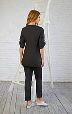Женская медицинская куртка топ Влада - Жіноча медична куртка топ Влада - Одежда для косметологов, фото 3