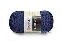 YarnArt Macrame, Темно-синий №162