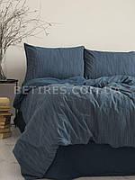Комплект постельного белья 200x220 LIMASSO MOZAIK DRESS BLUE синий