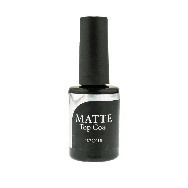 Матовый топ Naomi Top coat Matte - финишное покрытие матовое , 6мл