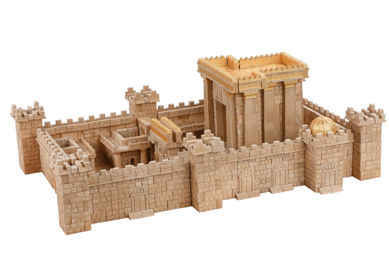 Керамический конструктор из кирпичиков Храм в Иерусалиме 1500 деталей Країна замків та фортець (Україна)