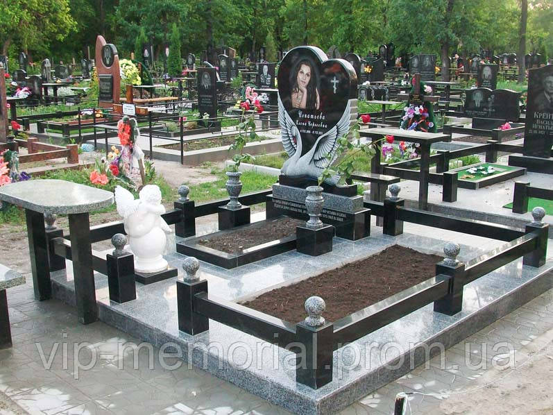 Памятник Сердце ПС-16