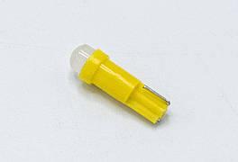 Габарит LED T5  - TC - COB ( пластик ) / Желтый