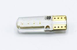Габарит LED T10 #29 - COB DZ20 12v / цвет Зеленый