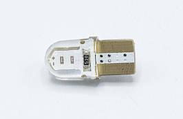 Габарит LED T10 #37 - COB type-B SHORT 12V / цвет Синий