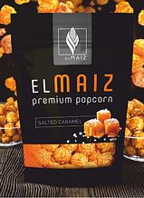 """Попкорн у карамелі з морською сіллю """"El Maiz"""" 70г, Купити попкорн в карамелі  з морською сіллю"""