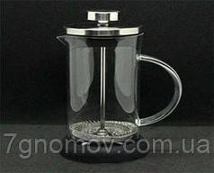 Френч-пресс стеклянный прозрачный Сталь 350 мл арт. 321705-350