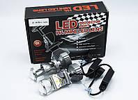 H4 IPH LED лампа - ЛИНЗА  головного света (Cooler)/28w/12-24v/ /к-кт 2шт