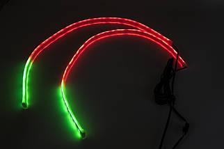 "DRL с функцией БЕГУЩЕГО поворота ""RUNNING WATER"" ( RGB + Yellow/к-кт 2x60cm), фото 2"