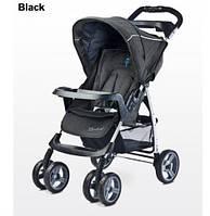 Прогулочная детская коляска Caretero Monaco (Black)