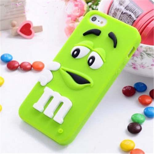 Силиконовый чехол M&M для Iphone 5c, Z218