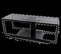 Стеклянная тумба под телевизоры Commus Loft 1080 gray540 bl (1080x340x380), фото 1