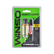 Прикуриватель автомобильный WINSO стандартный с подсветкой (210130)