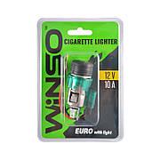 Прикуриватель автомобильный WINSO евро с подсветкой (210110)