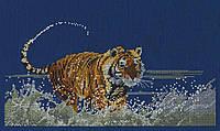 Набор для вышивания ДМС Бегущий тигр BK666